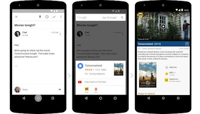 Fitur Google Now on Tap dalam Android M