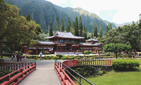 Byodo In Temple Oahu Hawaii