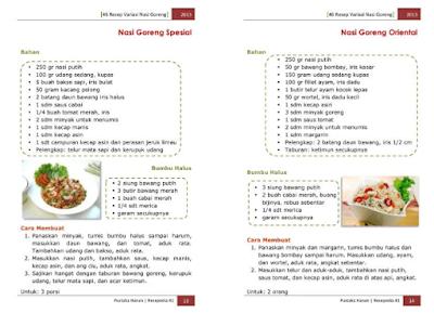Ebook 46 Resep Nasi Goreng