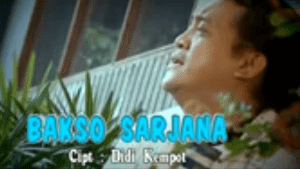Lirik Lagu Bakso Sarjana - Didi Kempot