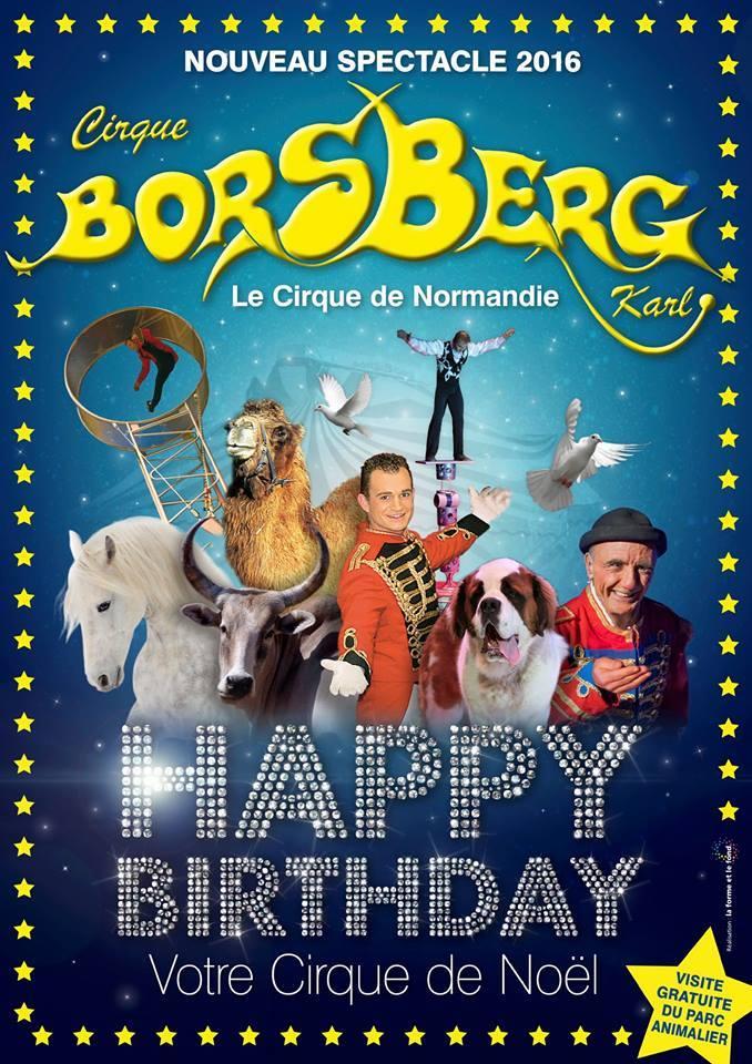 anniversaire cirque caen