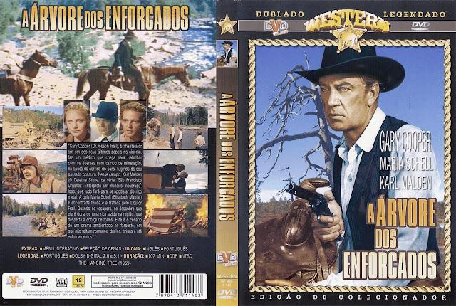 Capa DVD A Árvore dos Enforcados
