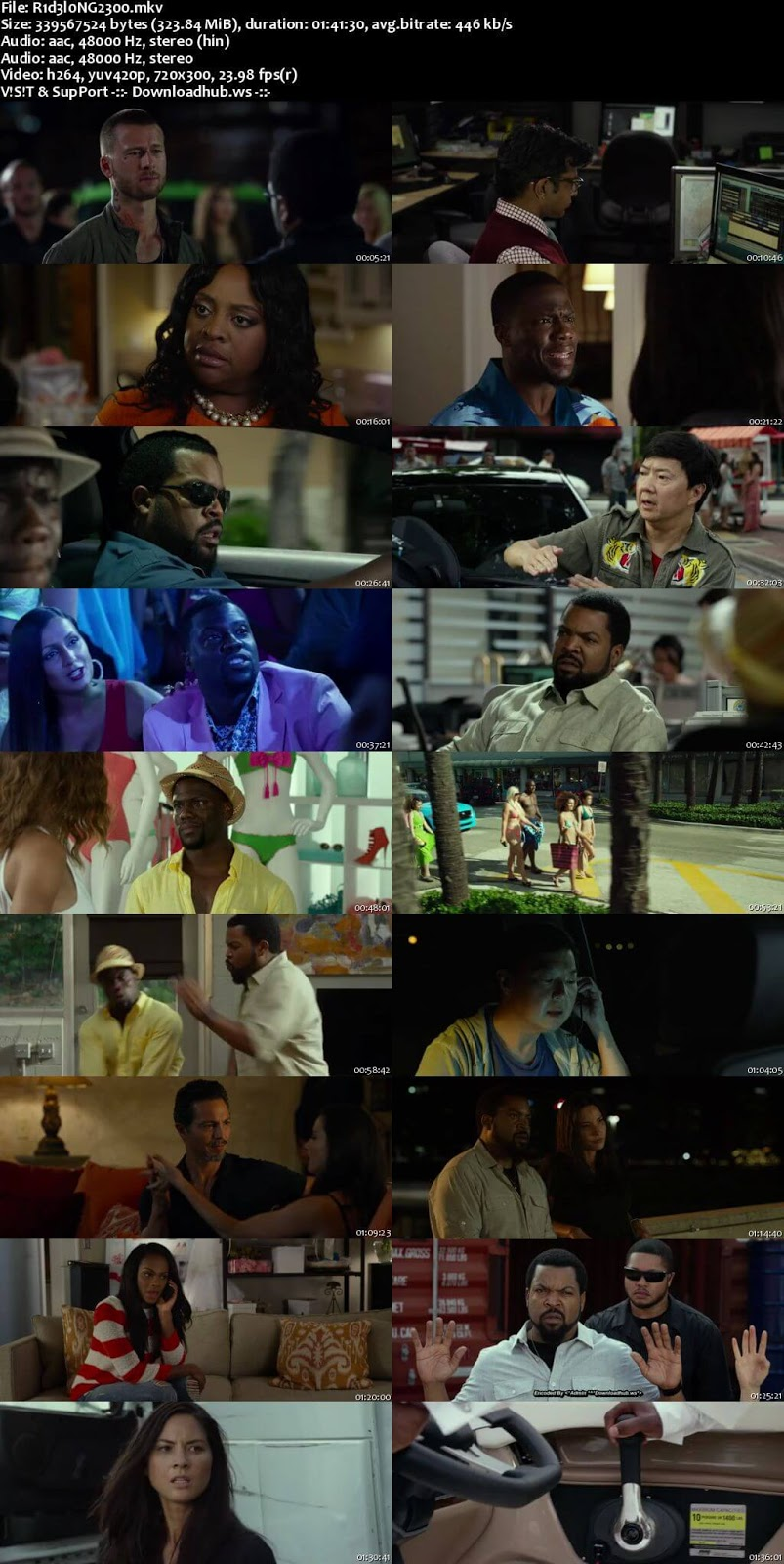 Ride Along 2 2016 Hindi Dual Audio 480p BluRay Free Download