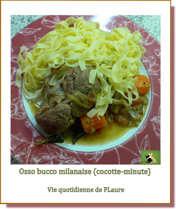 Osso bucco milanaise cocotte minute blogs de cuisine - Cuisine cocotte minute ...