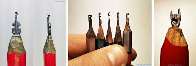 Скульптуры на кончике карандаша Реджепа Алкамли (Recep Alçamlı) - DayDreamer Blog