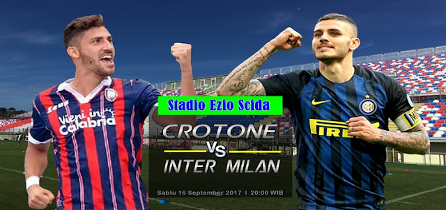 Crotone vs Inter Milan 16 September 2017