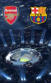 Leg kedua ARSENAL VS BARCELONA