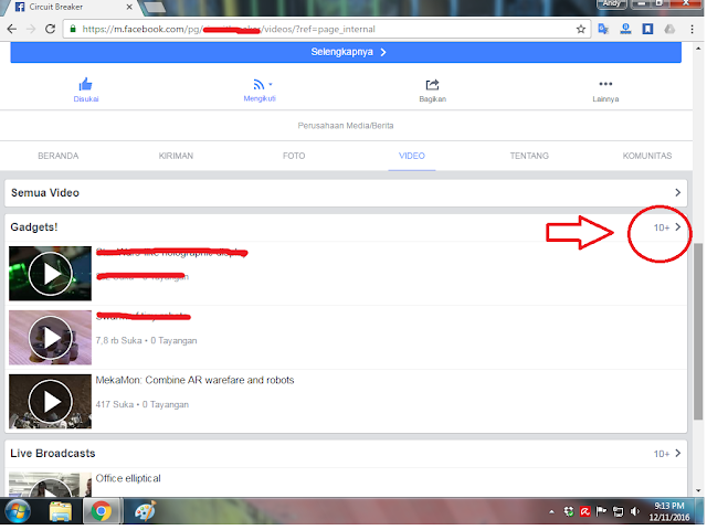 Cara Mudah Download Video di Facebook