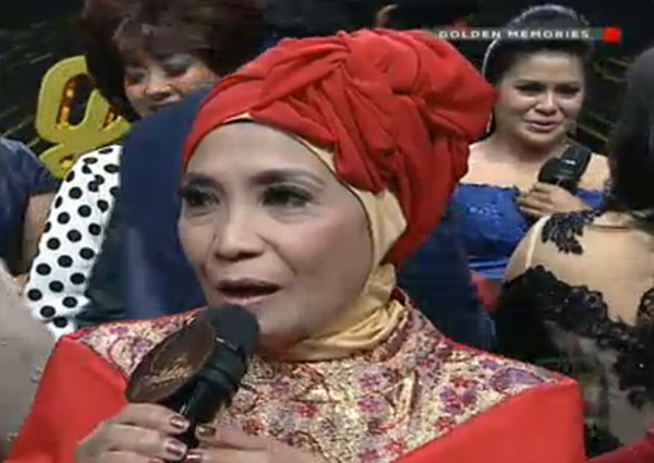 ibu tutty Golden Memories Indosiar Tadi Malam 7 Agustus 2016