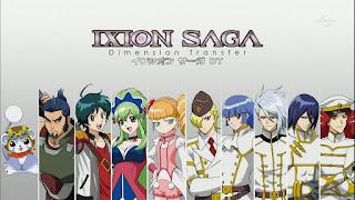 Ixion Saga: Dimension Transfer – Todos os Episódios
