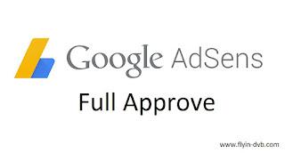 Berbagi Pengalaman Mendaftar Adsense Non Hosted Full Approve