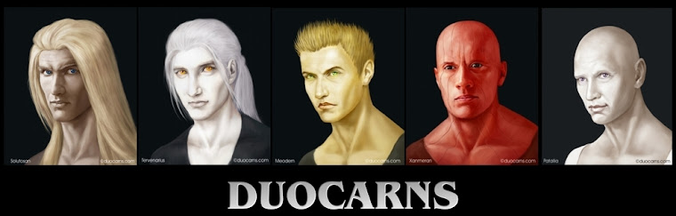 Duocarns - Fantasy Buchserie