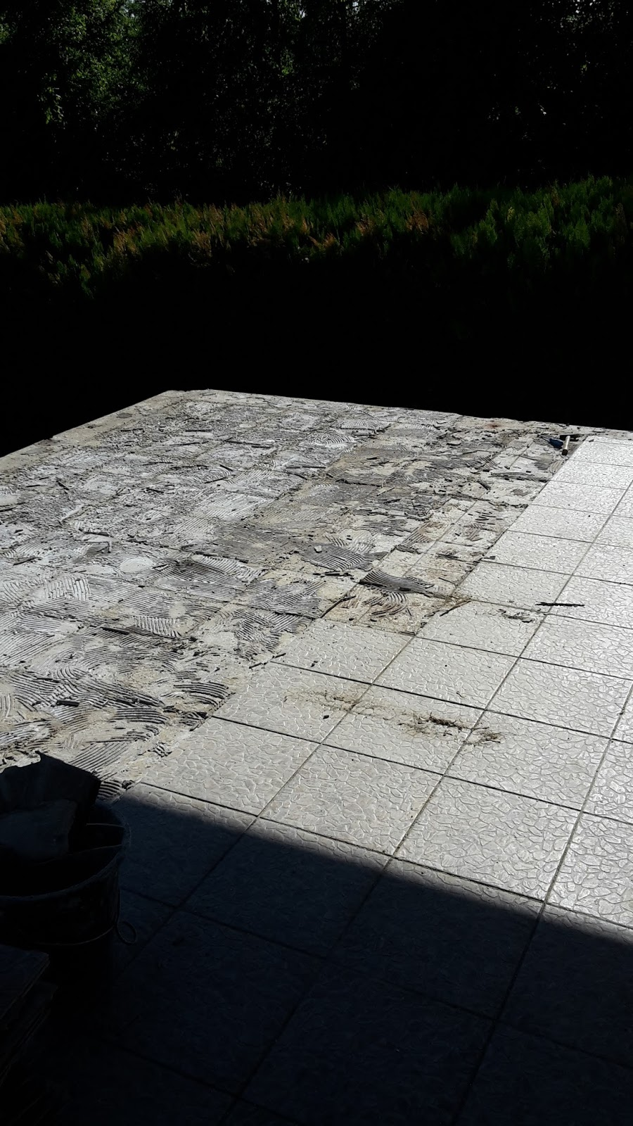 Terrasse Sanieren