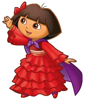 Cartoon Characters Dora The Explorer Png Photos