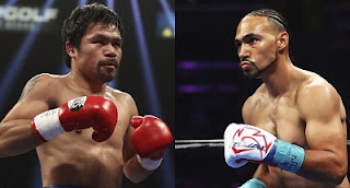 Manny Pacquiao vs Keith Thurman to fight in welterweight title unification bout set on 20 July.