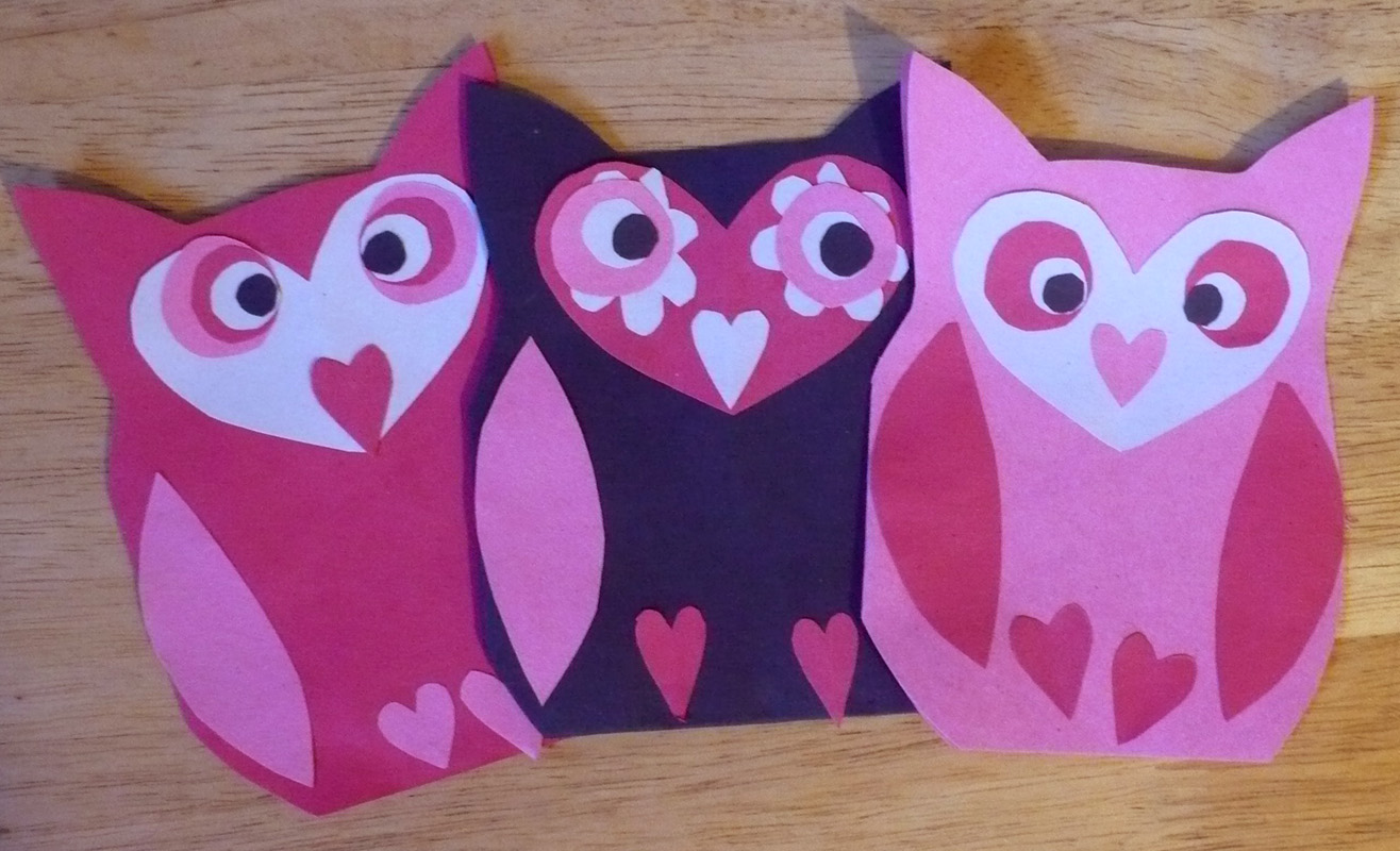 The Enchanted Tree Owl Valentines