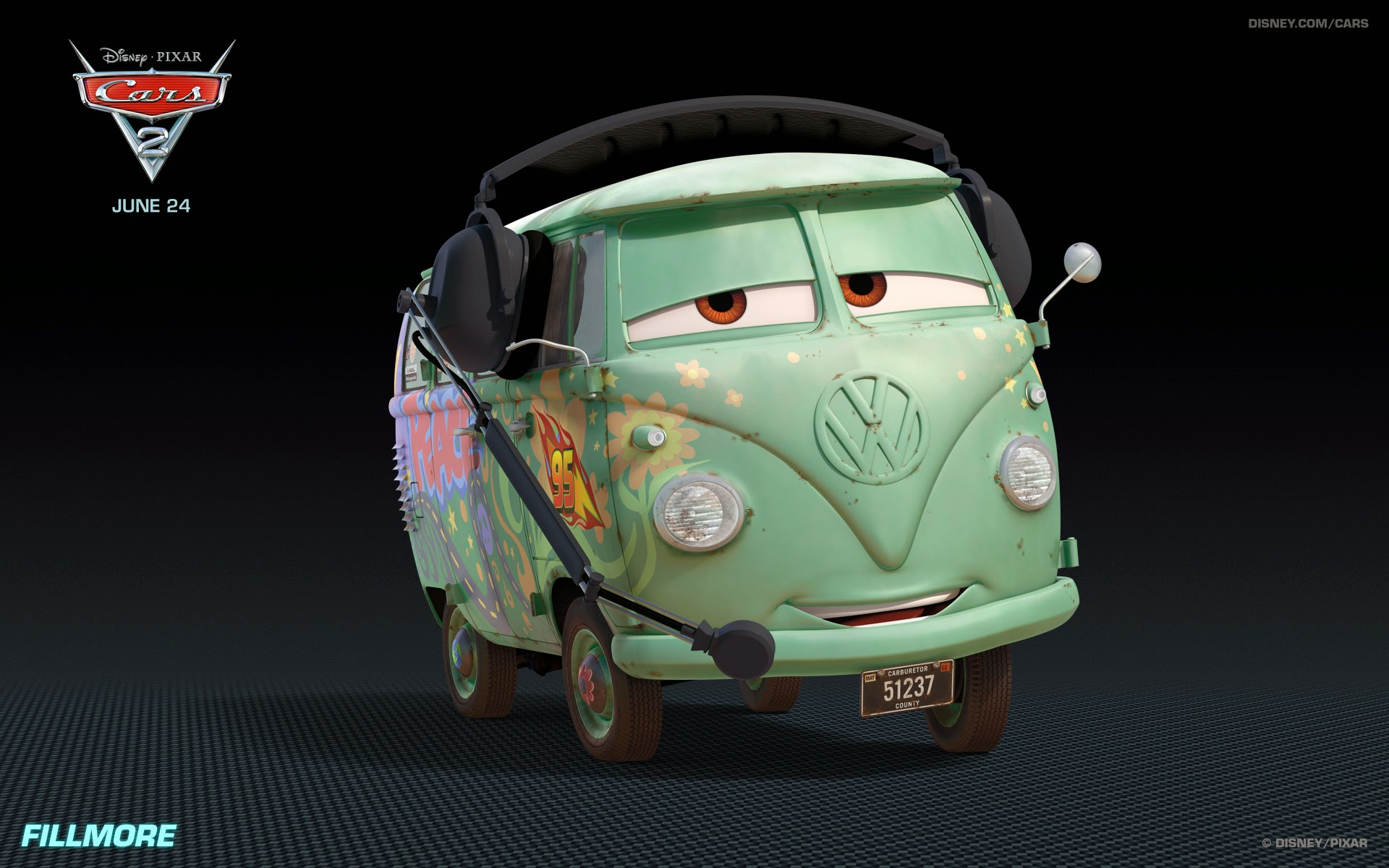 Tow Mater Cars Movie Wallpaper 1920x1200 Cars 2 Wallpapers And Theme For Windows 7 Wallpaperdeck