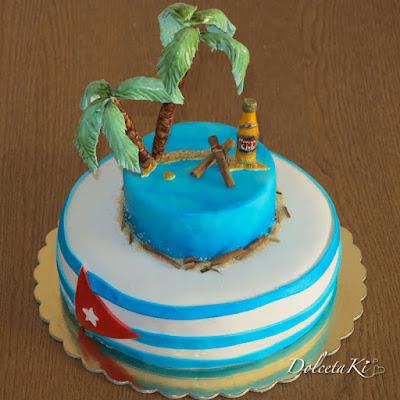 torta cuba sigari liquore palme