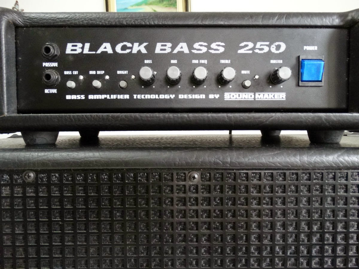 Amplificador de contrabaixo Sound Maker Mod Black Bass 250