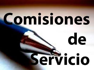 Oferta de comisiones de servicio para los órganos, del ámbito no transferido, que entran en funcionamiento el 31 de enero de 2018