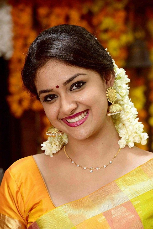 Actress KeerthySuresh Latest Images