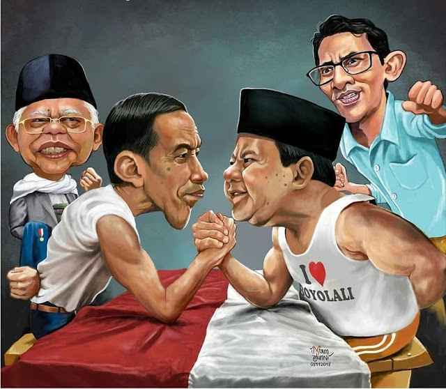 7 Meme 'Debat Capres' Ini Lucunya Ngademin Kubu Jokowi dan Prabowo
