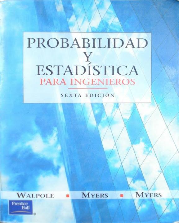 libro montgomery probabilidad y estadistica pdf