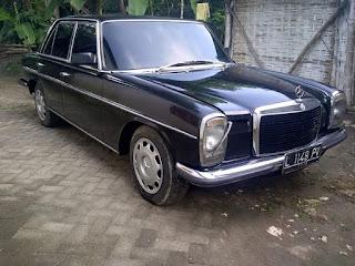 BUKALAPAK MOBIL ANTIK : Dijual Mercedes 280 th 1977 (mercy mini) - BOJONEGORO