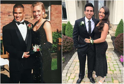 Photos of a teen who wore the same dress her mum wore to prom 22 years ago goes viral