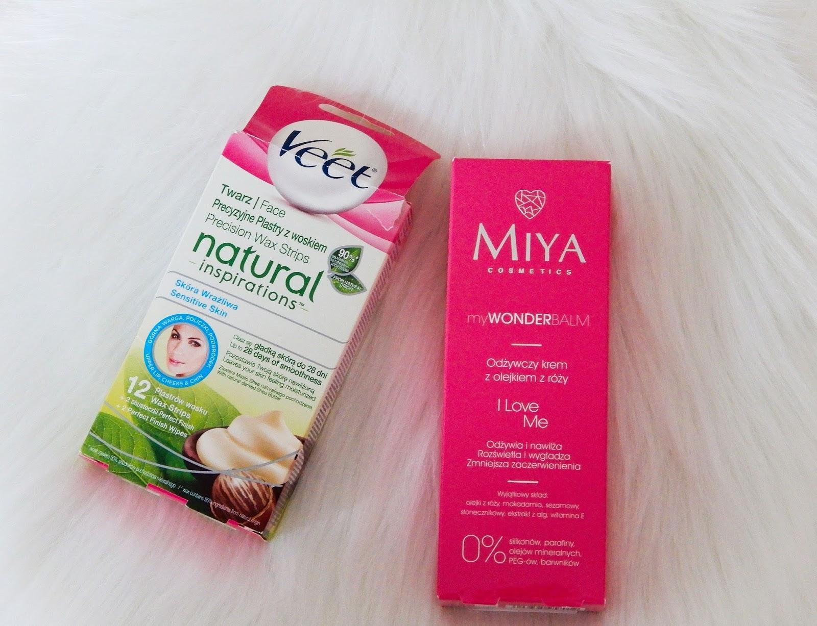 odżywczy krem do twarzy z olejkiem z róży myWONDERBALM I Love Me Miya cosmetics, Veet natural inspirations,