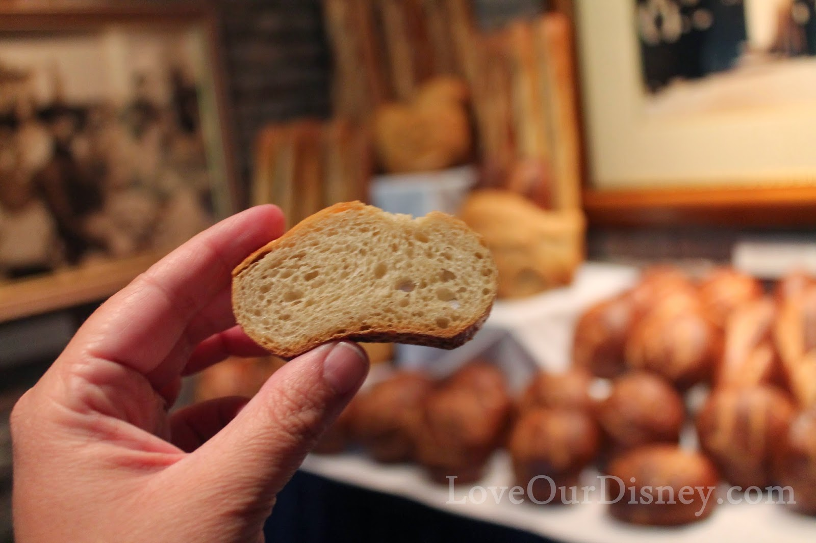 This free bread sample is part of the bakery tour at Disney California Adventure in Disneyland. LoveOurDisney.com is sharing if the tour is a must-do