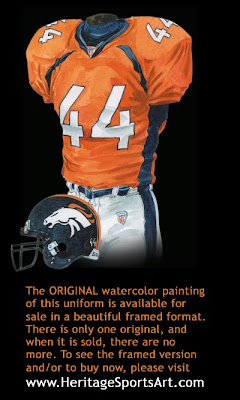 Denver Broncos 2004 uniform