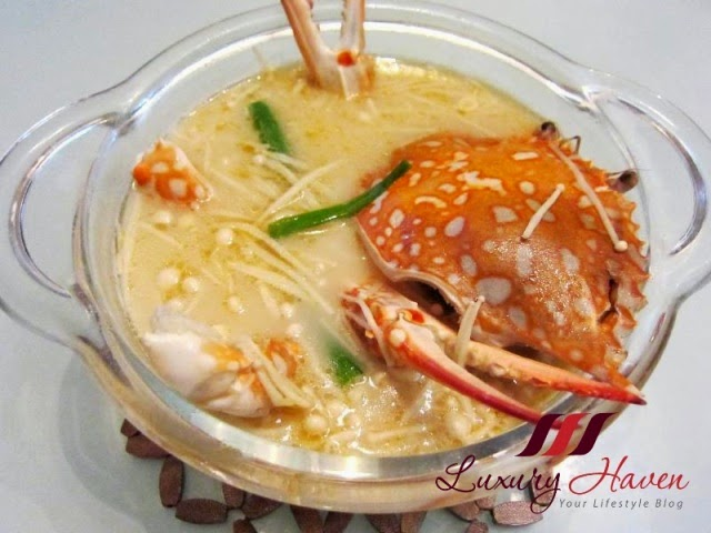 chinese new year tasty flower crab soup recipes