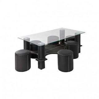 Cumpara de aici setul -masa+6 tabureti pentru servirea cafelei