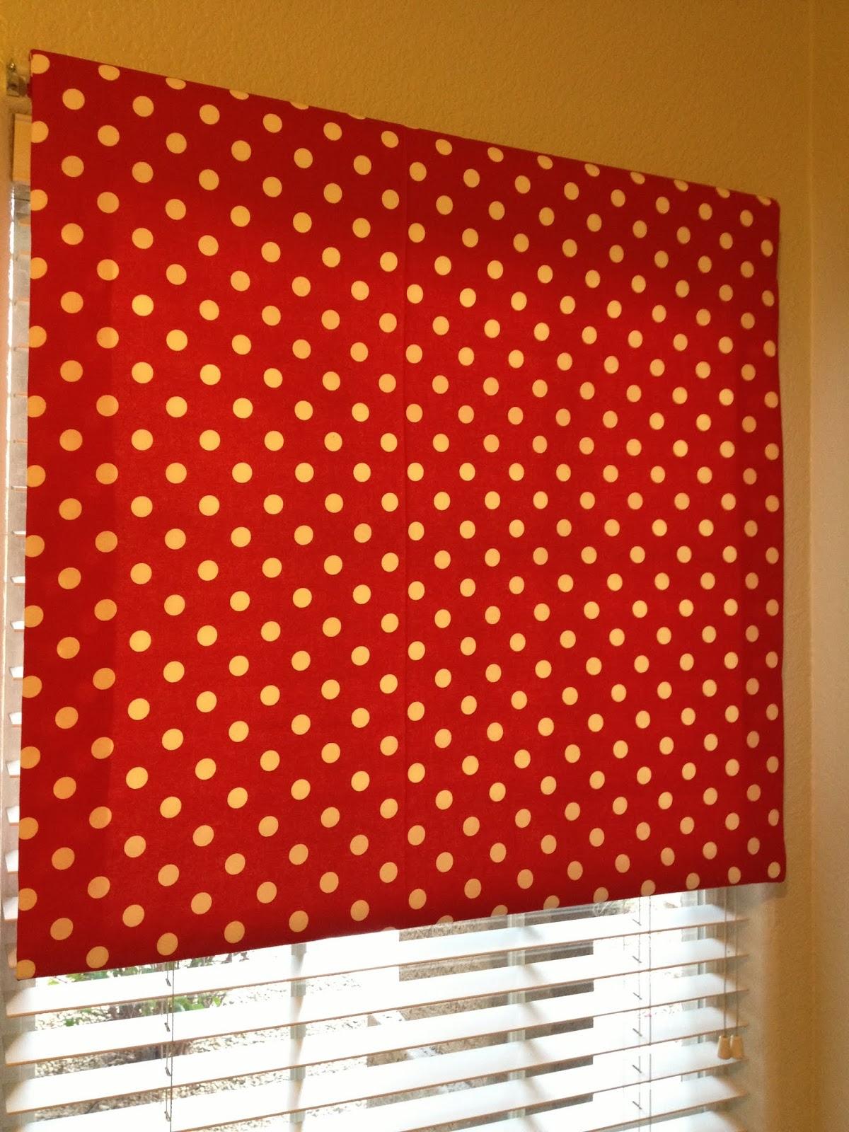 No Sew Fabric Roller Shade