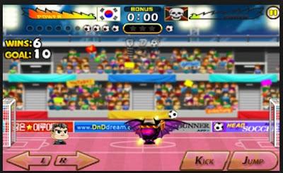 Screenshot Head Soccer Mod Apk