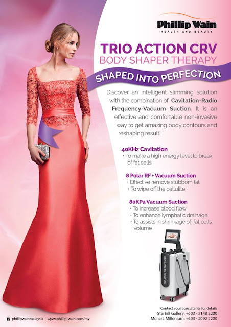 Trio Action CRV, Body Shaper Treatment, Body Slimming, Phillip Wain, Starhill Gallery, Kuala Lumpur