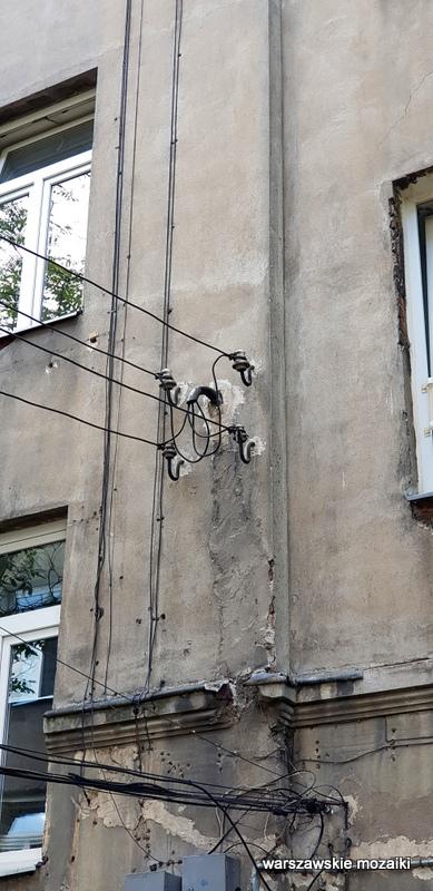 Warszawa Warsaw Praga Północ praskie ulice kamienica architektura praskie klimaty ściana