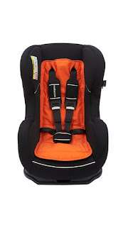 order soon £8.99 Mothercare Universal Car Seat Liner (Orange) – Only 2 left in stock