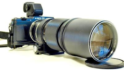 Olympus E-P5, Olympus OM Zuiko 300mm F4.5