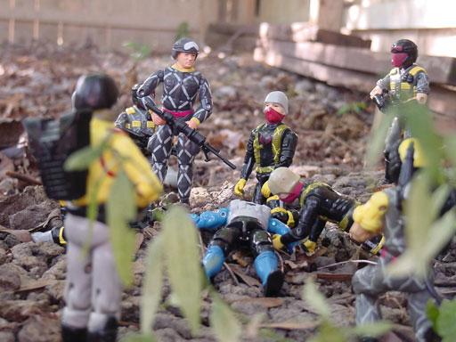 Relampago, Python Patrol Ripcord, Forca Naja, Brazil, Estrela, Rare G.I. Joe Figures, 1991 Snake Eyes, 1989 Python officer, Trooper, Viper, Tele Viper, Crimson Guard
