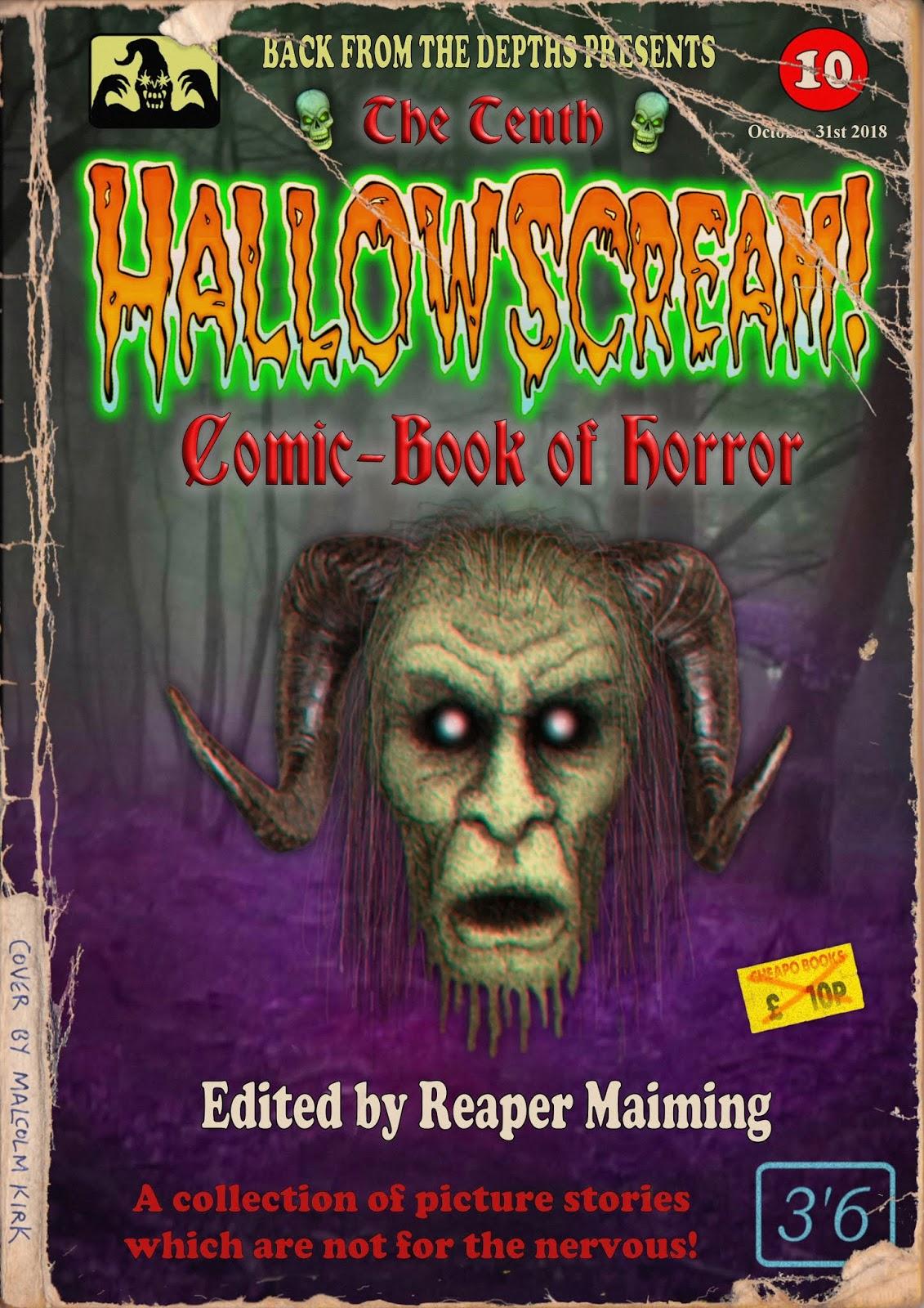 The Theatre Of Terror Horror Comics Blog