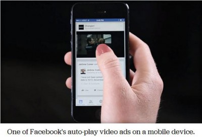 Facebook Rilis Iklan Video Auto Play