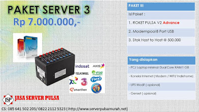 Jasa Server Pulsa PPOB