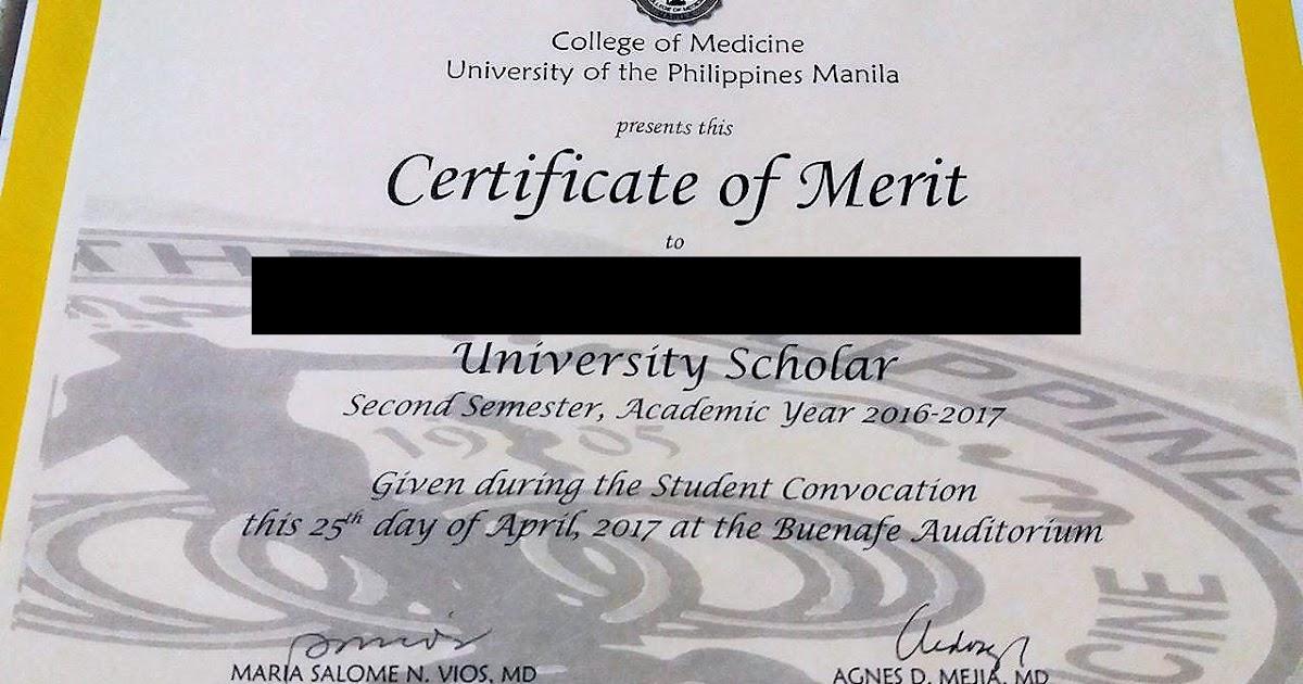 stories from my garden  ds u0026 39 s upcm university scholar certificate of merit