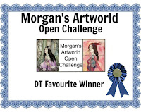 Winner DT Favorite at Morgan's Art World Challenge Blog