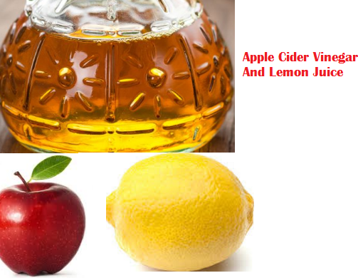 Apple Cider Vinegar And Lemon Juice
