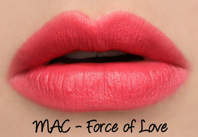 MAC Chen Man Love & Water Force of Love Lipstick Swatches & Review