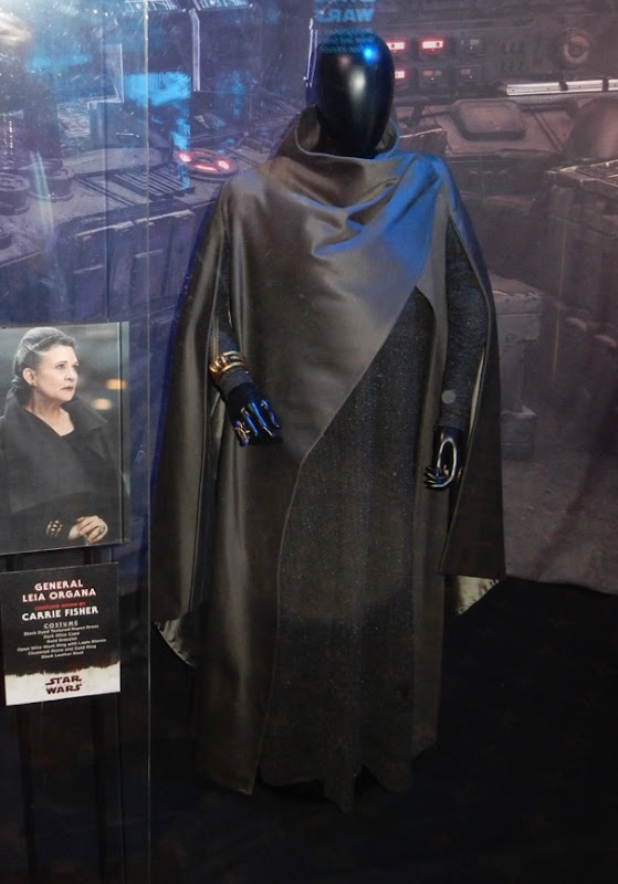 Carrie Fisher Star Wars Last Jedi Leia Organa costume