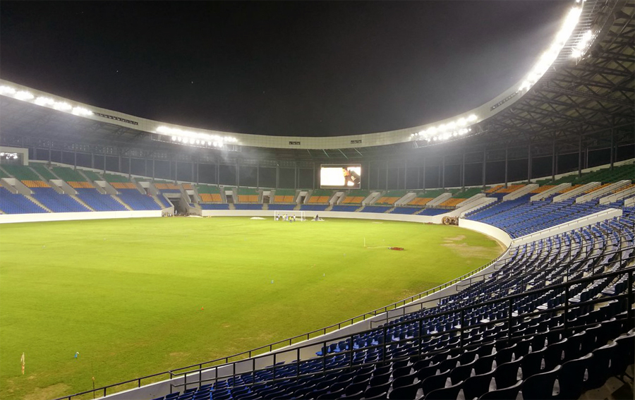 stadio oyem coppa d'africa gabon 2017